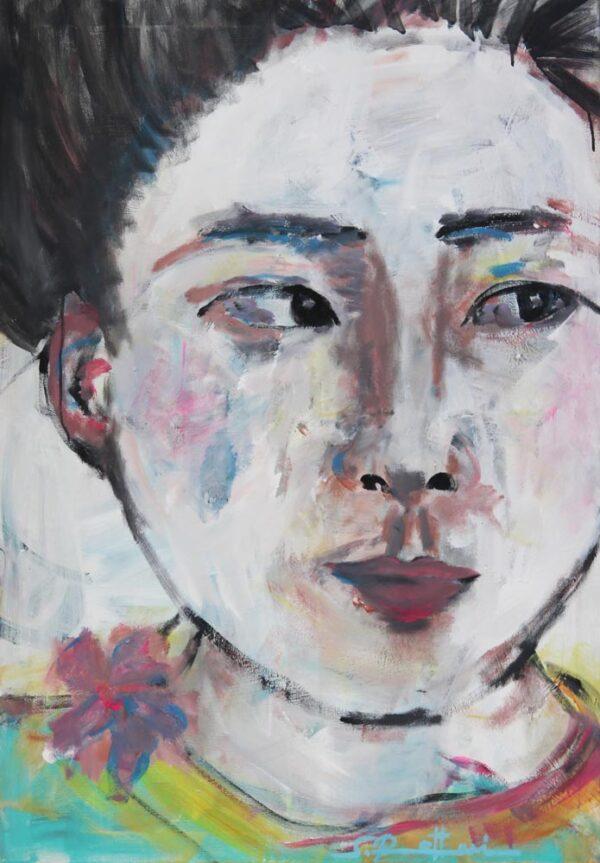 Modernes Kunst Gemälde. Handgemaltes Acrylbild. Zeitgenössische Malerei.