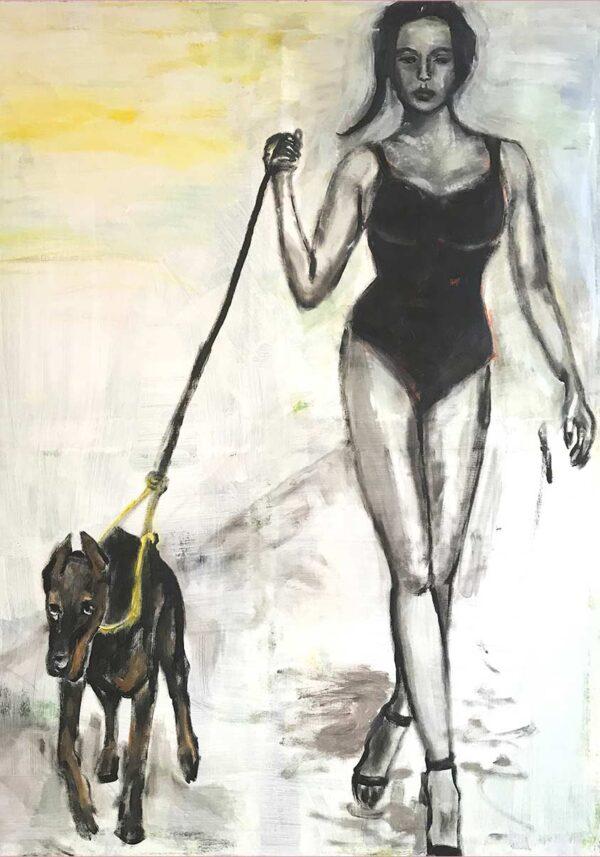 Moderne Kunst. Gemälde. Handgemaltes Bild von Künstler.