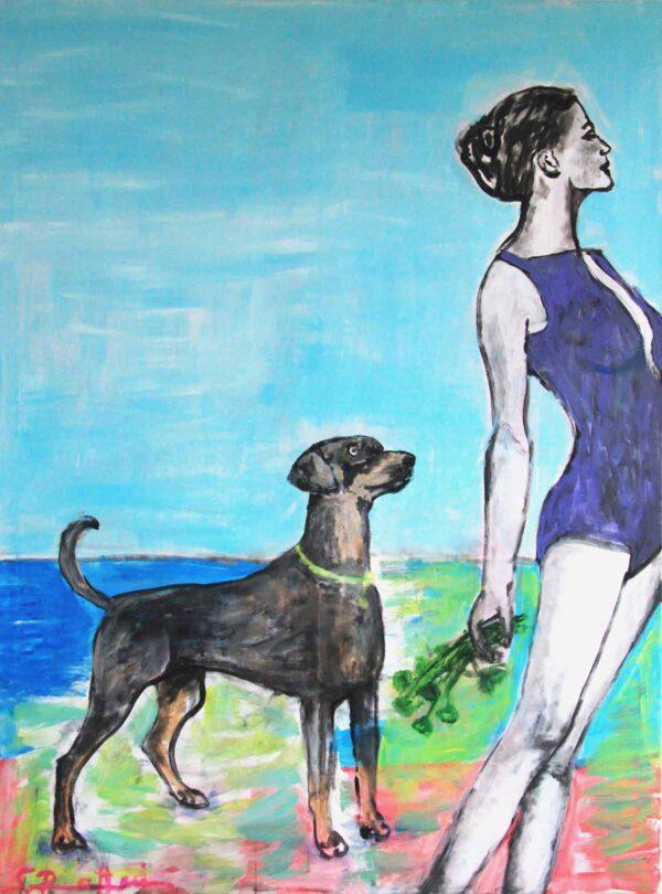 Acryl Bild handgemalt. Modernes Gemälde kaufen.