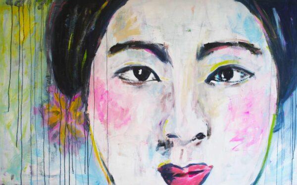 categoryid=artist XXL Leinwandbild Großer Kunstdruck. Frauen. Porträt. Modernes Wandbild.